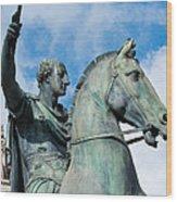 Italian Bronze Wood Print