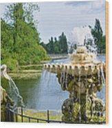 Italian Fountain London Wood Print