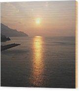 Italian Sunrise Wood Print