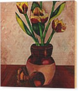 Italian Tulips Wood Print