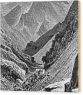 Italy: Carrara Mountains Wood Print