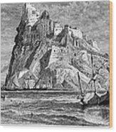 Italy: Castle Of Ischia Wood Print