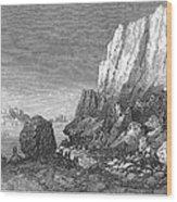 Italy: Earthquake, 1856 Wood Print