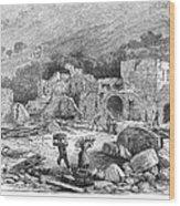 Italy: Earthquake, 1881 Wood Print