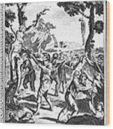 Italy: Protestant Martyrs Wood Print by Granger