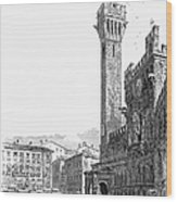 Italy: Siena, 19th Century Wood Print by Granger