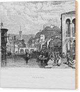 Italy: Verona, 1833 Wood Print