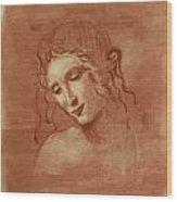 Itso Leonardo Wood Print