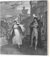 Ivanhoe, 1832 Wood Print