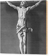 Ivory Crucifix Wood Print