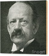 J. J. Thomson, English Physicist Wood Print