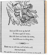 Jack And Jill, 1833 Wood Print by Granger