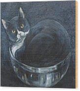 Jack-in-the-bowl Wood Print