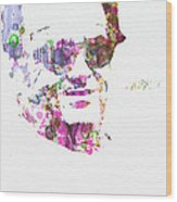 Jack Nicolson 2 Wood Print