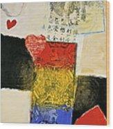 Jack Of Hearts 46-52 Wood Print