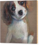 Jack Russell Terrier Dog Wood Print