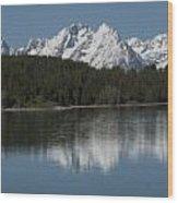 Jackson Lake Wood Print