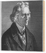 Jacob Grimm (1785-1863) Wood Print