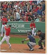 Jacoby Ellsbury Wood Print