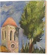 Tel Aviv Jaffa Wood Print