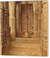 Jaisalmer Palace Wood Print