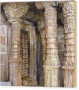 Jaisalmer Temple Wood Print