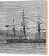 Jamaica: Css Alabama, 1863 Wood Print