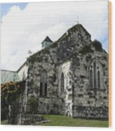 Jamaican Church Wood Print