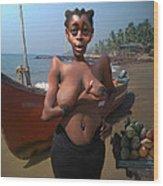 Jamaican Fruit Wood Print