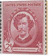 James A. Mcneill Whistler Wood Print