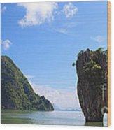 James Bond Island - Ko Tapu Wood Print