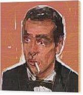 James Bond Wood Print by Russell Pierce