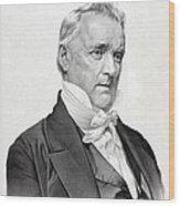 James Buchanan Wood Print