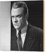 James Cagney, Portrait, 1950s Wood Print by Everett