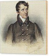 James Fenimore Cooper Wood Print
