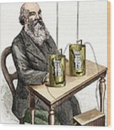 James Joule, British Physicist Wood Print