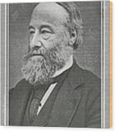 James Prescott Joule, British Physicist Wood Print