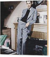 James Stewart, Ca. 1940s Wood Print by Everett