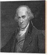 James Watt, Scottish Engineer Wood Print