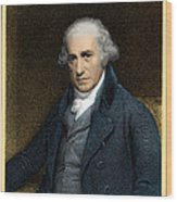 James Watt, Scottish Inventor Wood Print