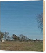 Jamestown Windmill Wood Print