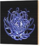 Jammer Blue Star 001 Wood Print
