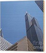 Jammer Chicago 004 Wood Print