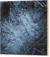 jammer Frozen Cosmos Wood Print