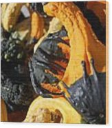 Jammer Gourds 001 Wood Print