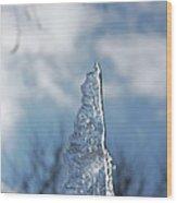 Jammer Ice Sail 001 Wood Print