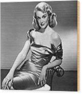 Jan Sterling, 1950s Wood Print