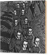 Jane Eyre Wood Print by Granger