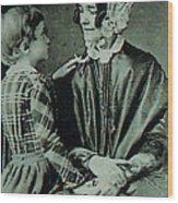 Jane Pierce Wood Print by Photo Researchers