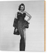 Jane Russell, Ca. Early 1950s Wood Print by Everett